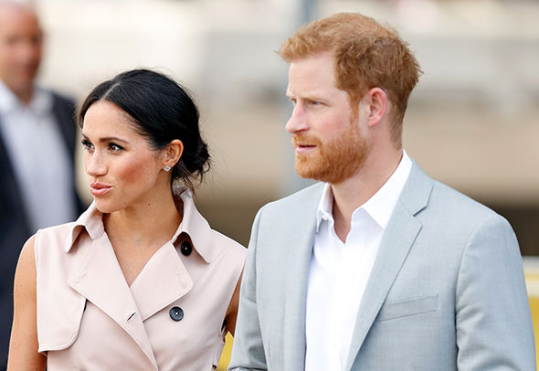 Meghan Markle has been supporting Prince Harry since the death of this mum (Image GETTY )