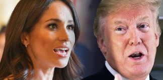 Meghan Markle has well documented opinions on Donald Trump. Photo C REUTERS• AFP GETTY