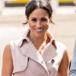Meghan Markle looked pretty in pink Photo (C) GETTY