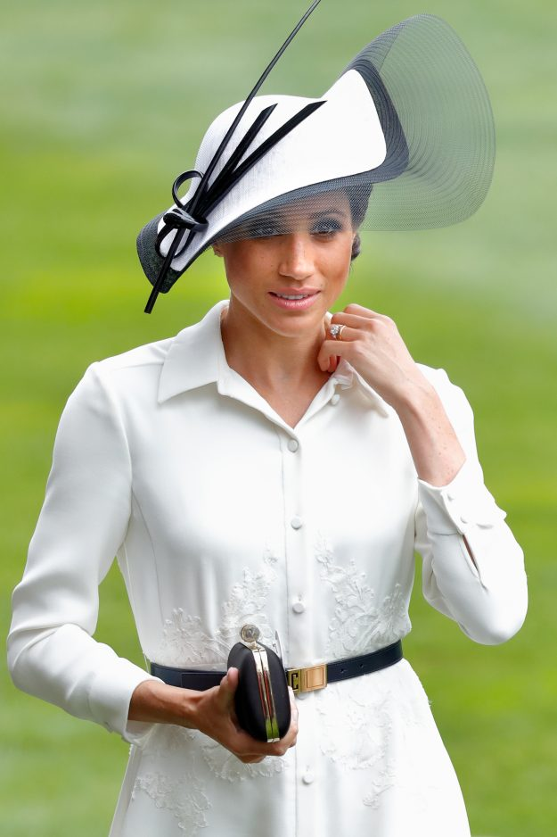Meghan Markle looked stunning as she attended Ascot Getty