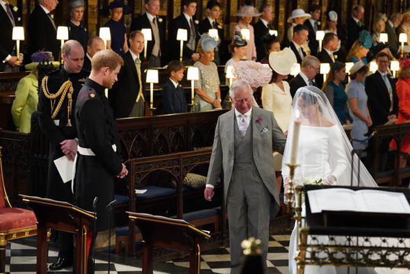 Meghan Markle news Charles replaced Meghan's dad to walk her down the aisle Photo (C) GETTY