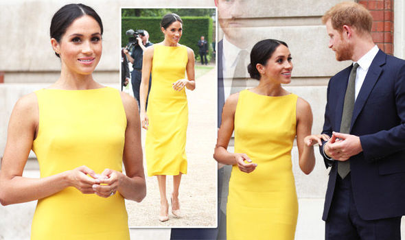 Meghan Markle news Dress for latest Prince Harry Commonwealth event cost this much Photo (C) GETTY
