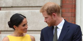 Meghan Markle news The yellow hue complimented her bronze skin and dark hair Photo (C) GETTY