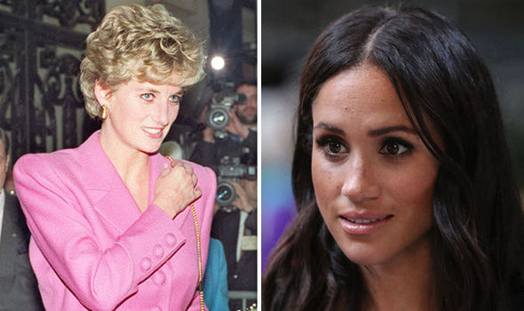 Meghan Markle news New Duchess of Sussex won't come 'anywhere near' to Princess Diana (Image GETTY)