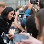 Meghan Markle on an official visit Ireland (Image GETTY)