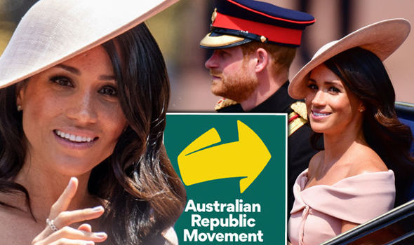 Meghan Markle will not be able to win over the Australian Republic Movement when she visits Sydney Photo (C) GETTY•AUSTRALIAN REPUBLIC MOVEMENT