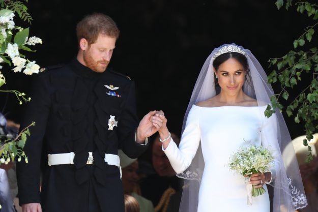 Meghan Markle married Prince Harry at Windsor Castle in May 2018 [Getty]