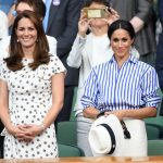 Meghan Markle wore a Ralph Lauren shirt to the Ladies' singles final at Wimbledon (Image GETTY)