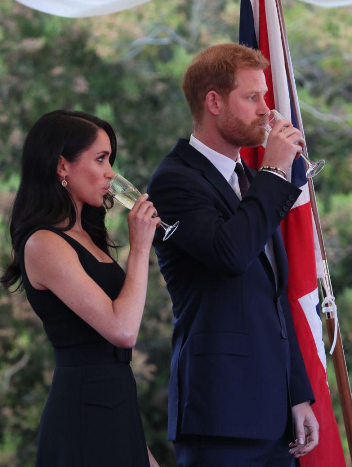 b8d86bf2d4 Meghan Markle breaks royal rule at summer garden party - Dianalegacy ...