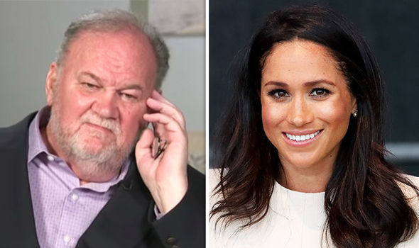 Meghan Markle's estranged father has angered the Royal Family, an expert said (Image GETTY)