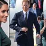Meghan and Harry arrive in Dublin