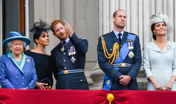 Meghan and Harry can have public display of affection in public while William and Kate tend not to (Image Getty)