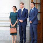 Meghan and Harry met Leo Varadkar during their visit to Ireland