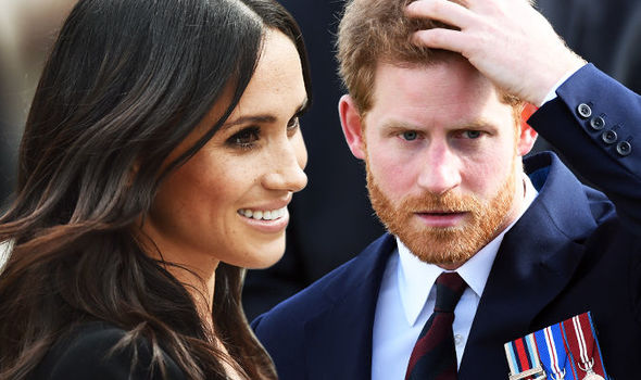 Meghan feels she needs to be 'motherly' towards Harry (Image GETTY )