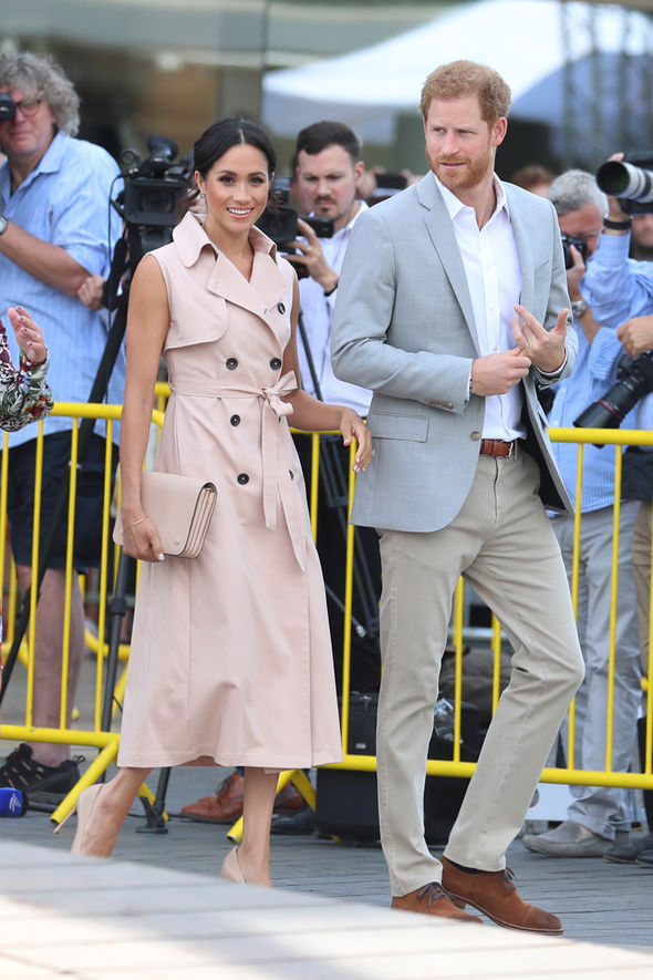 The source told People magazine that Meghan is frustrated with certain royal rules (Image Getty Images)