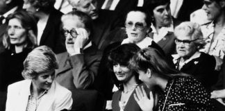 Mesmerising archive footage has been dusted off showing Princess Diana and Sarah Ferguson Photo (C) PA