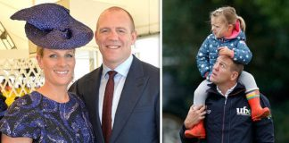 Mike Tindall revealed how daughter Mia is coping with being a big sister Photo C GETTY