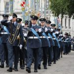 Over 1,000 RAF servicemen and women perform a ceremonial parade (Image Getty Images Europe)
