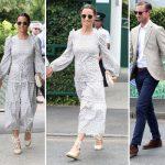 Pippa Middleton arrived at Wimbledon today alongside husband James Matthews Photo (C) GETTY