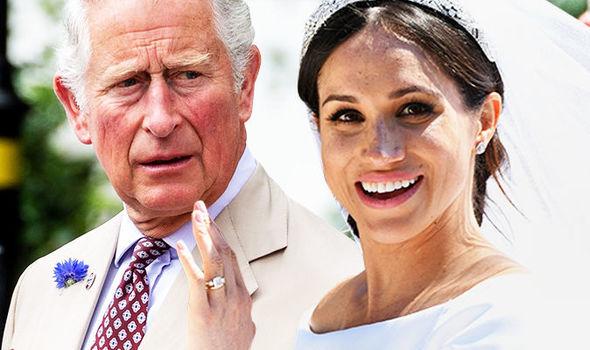 Prince Charles' friend Nicky Haslam criticised Meghan's wedding dress Photo (C) EPA