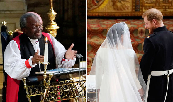 Prince Harry and Meghan's Royal Wedding Bishop Michael Curry is fighting with prostate cancer (Image Getty)