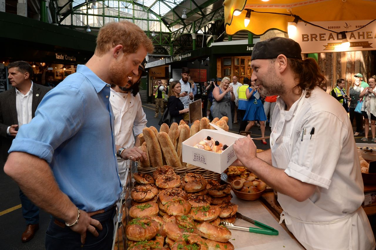 Prince Harry and Meghan had very different approaches to diet before they met. Photo Getty Photo (C) GETTY