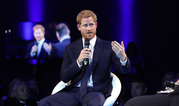 Prince Harry attended the Wheels Down Ball, without Meghan Markle Photo (C) Wheels Down BallREXShutterstock