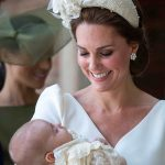 Prince Louis christening Kate gazed lovingly at her youngest child at the christening PhotPrince Louis christening Kate gazed lovingly at her youngest child at the christening Photo (C) GETTYo (C) GETTY