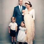 Prince Louis christening pictures Kate and William's family of five is pictured for the first time