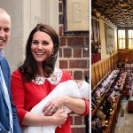 Prince Louis christening will take place on Monday 8 July at St James Palace in Windsor Photo C GETTY