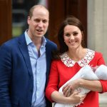 File photo dated 23/04/2018 of the Duke and Duchess of Cambridge leaving the St Mary's Hospital, London with their newborn son Prince Louis of Cambridge, who will be christened in front of close members of the royal family on Monday. PRESS ASSOCIATION Photo. Issue date: Sunday July 8, 2018. The 11-week-old, who is fifth in line to the throne, will be baptised by the Archbishop of Canterbury, the Most Reverend Justin Welby, in the Chapel Royal at St JamesÕs Palace. See PA story ROYAL Christening. Photo credit should read: John Stillwell/PA Wire