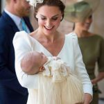 Prince Louis was described by mum Kate as relaxed and peaceful Photo (C) GETTY