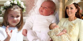 Prince Louis will wear same christening dress as Princess Charlotte and Prince George Photo (C) GETTY