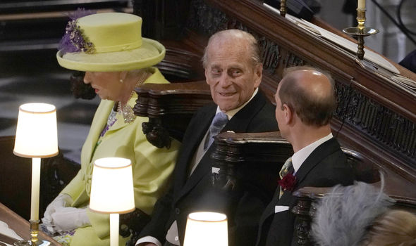 Prince Philip attended Meghan and Harry's wedding at St George's Chapel in Windsor Castle (Image GETTY)