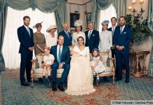 Prince Louis and kate Photo (C) PA