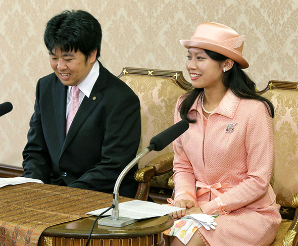 Princess Ayako's older sister Princess Noriko also left the royal family in 2014 to marry commoner Photo (C) GETTY