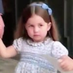 Princess Charlotte was caught telling off photographers after leaving the christening [ITV, Chris Ship ]