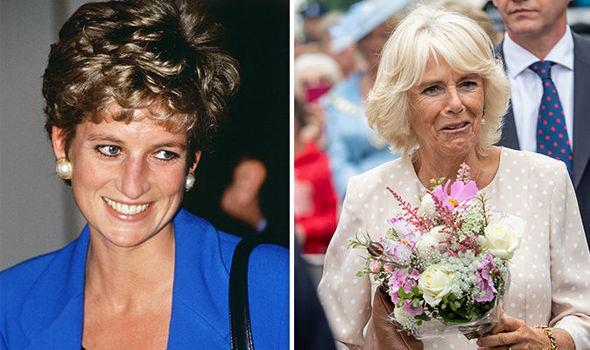 Princess Diana fans hit out at Camilla, Duchess of Cornwall (Image GETTY )