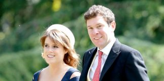 Princess Eugenie and James Brooksbank pictured at Pippa Middleton's wedding (Image GETTY)