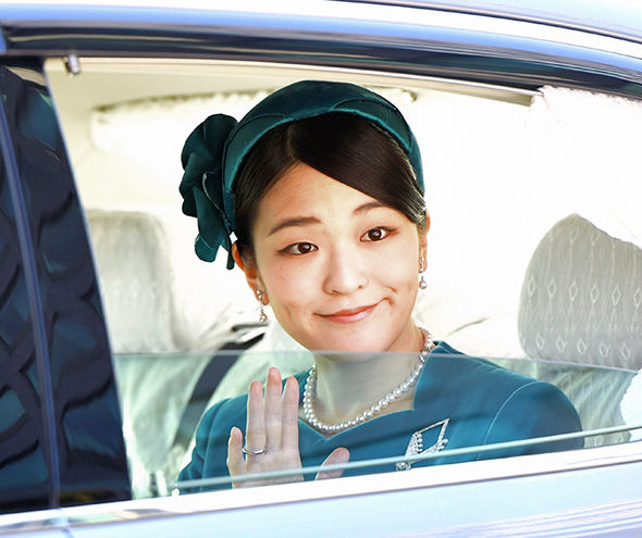 Princess Mako, 26, gave up her royal status to follow her heart and marry paralegal Kei Komuro Photo (C) GETTY