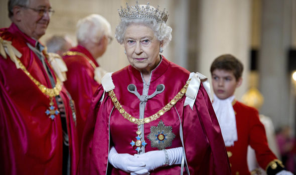 Queen Elizabeth could decide to award Mr Brooksbank a title on the day (Image GETTY)