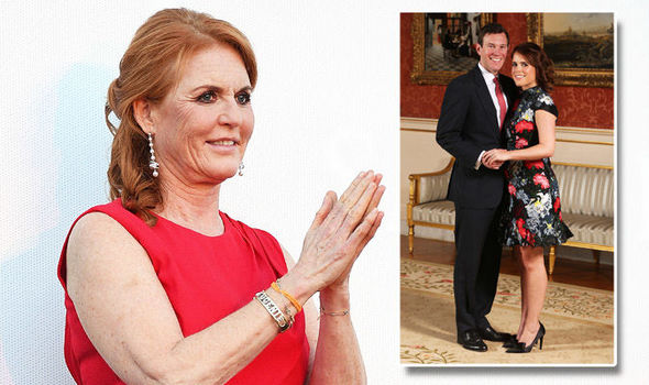 Sarah Ferguson Her handwriting reveals her needs ahead of Princess Eugenie's wedding Photo (C) GETTY