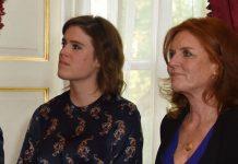 Sarah Ferguson She is close to daughter Princess Eugenie Photo (C) GETTY