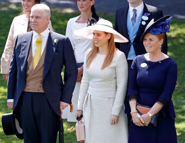 Sarah Ferguson attended Royal Ascot alongside Prince Andrew and her daughters in June (Image GETTY)