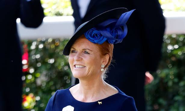 Sarah Ferguson has been watching something very surprising on TV Photo (C) GETTY