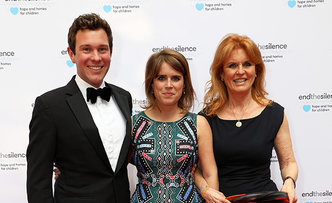 Sarah Ferguson retweeted the letter Photo (C) GETTY