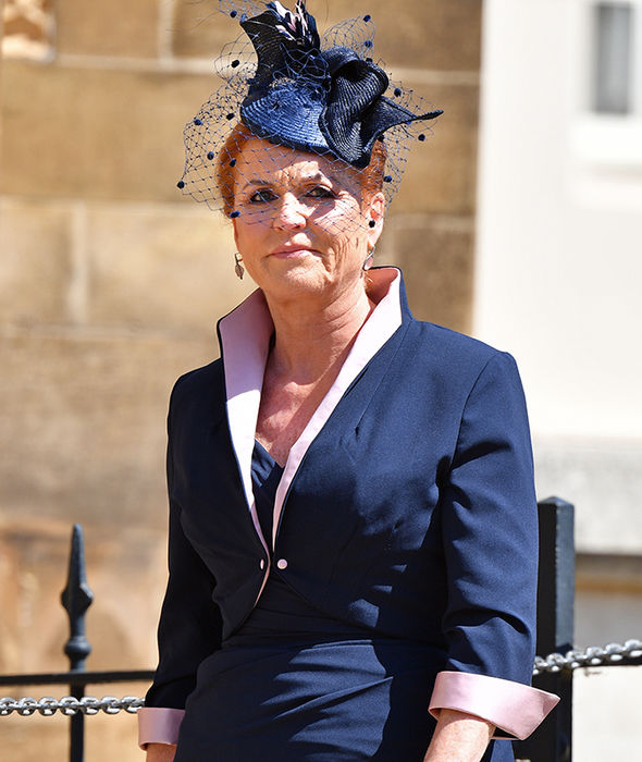 Sarah Ferguson was a guest at Harry's wedding to Meghan Markle (Image Sarah Ferguson was a guest at Harry's wedding to Meghan Markle (Image GETTY )GETTY )