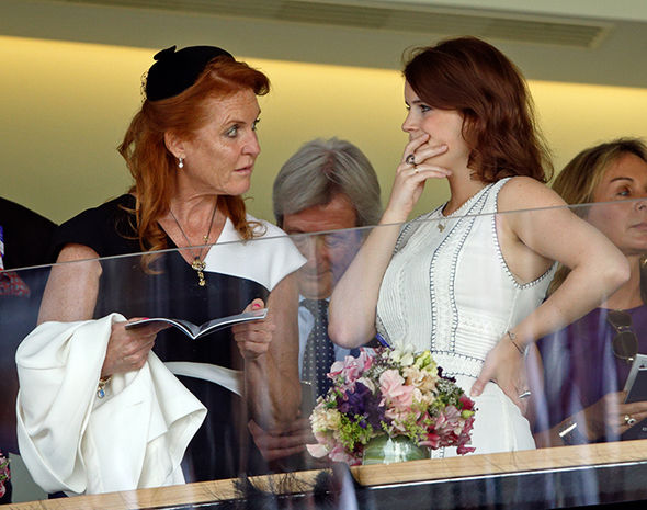 Sarah Ferguson will play a key role as mother of the bride at Princess Eugenie's wedding (Image GETTY )