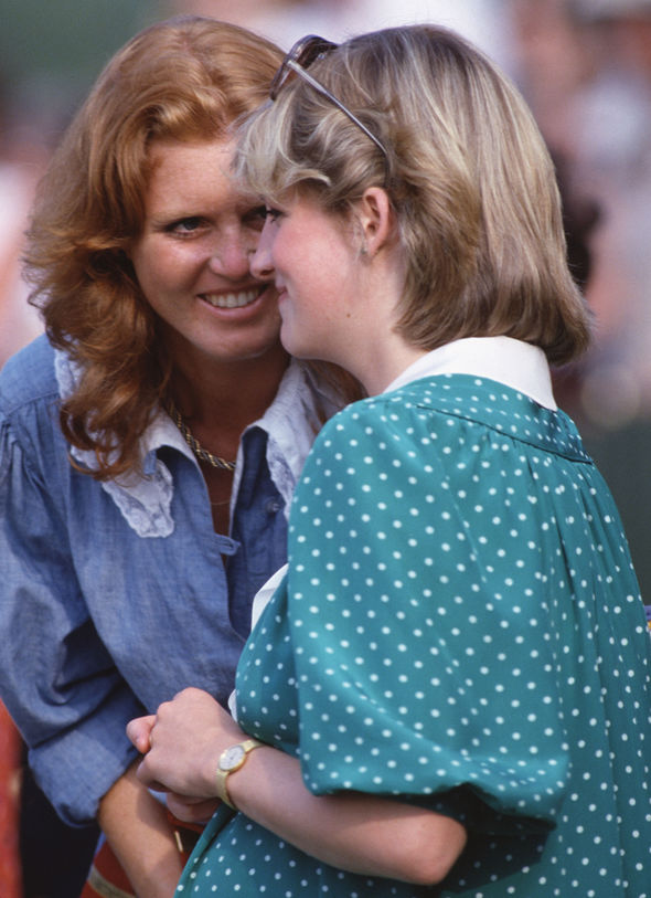 Sarah and Diana shared a close bond, but stopped speaking before Diana's death (Image Getty Images)