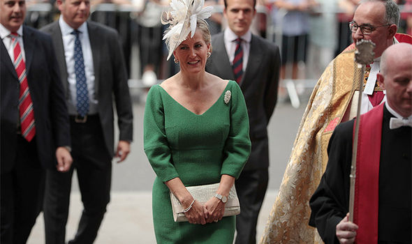 Sophie Countess of Wessex attends NHS anniversary service at Westminster Abbey Photo (C) GETTY